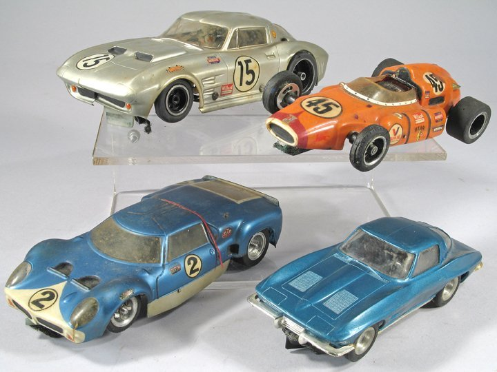 Aurora 1/25 scale Slot Car Lot Large 1960\'s - 2