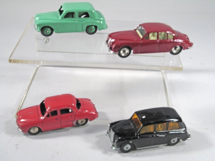 Dinky Car Sedan Lot