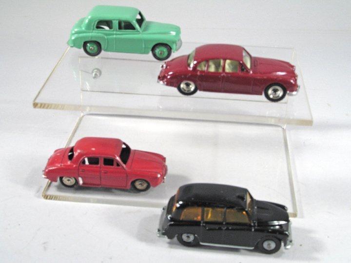 Dinky Car Sedan Lot - 2