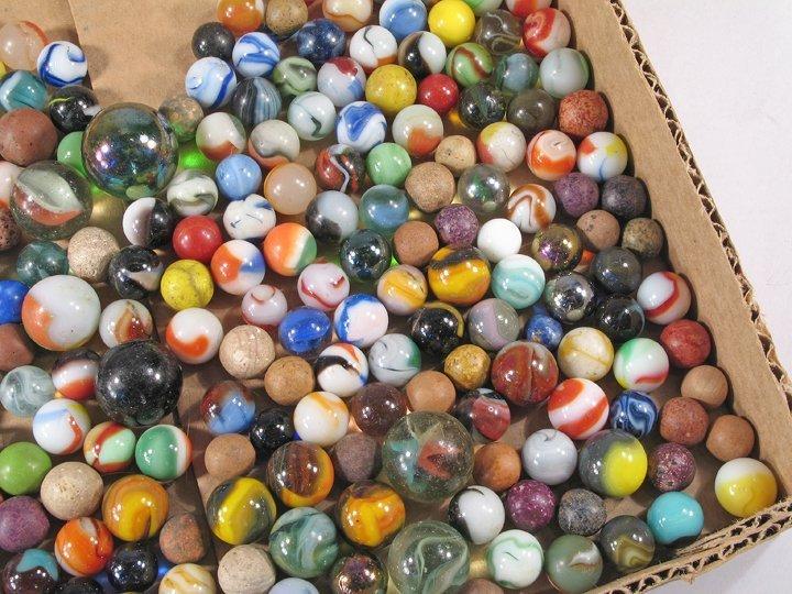 Antique Marble Lot - 3