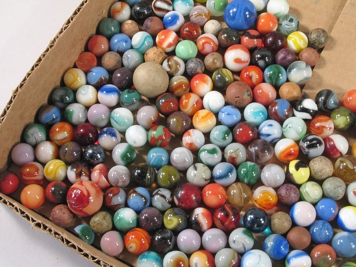 Antique Marble Lot - 2
