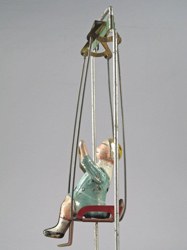 Gibbs Tin Acrobat and German Monkey Acrobat - 3