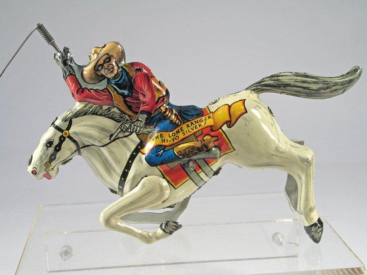 Marx Lone Ranger Lasso Tin Litho