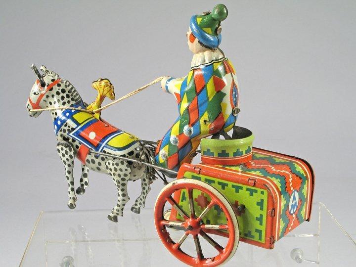 Balky Clown Tin Toy - 3