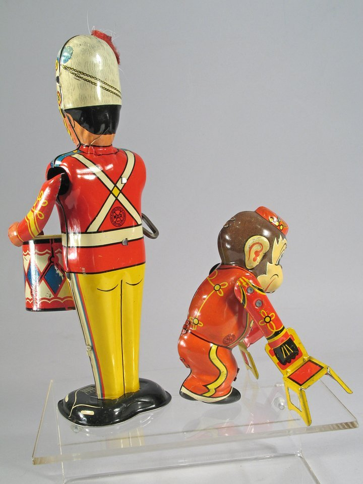 Marx Drummer Boy Tin Litho Wind Up Lot - 2
