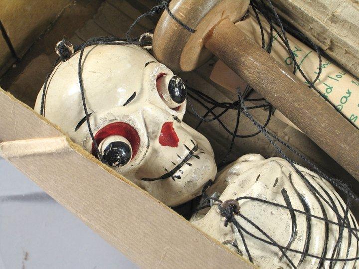 Pelham Skeleton Halloween Puppet Rare In Box - 2
