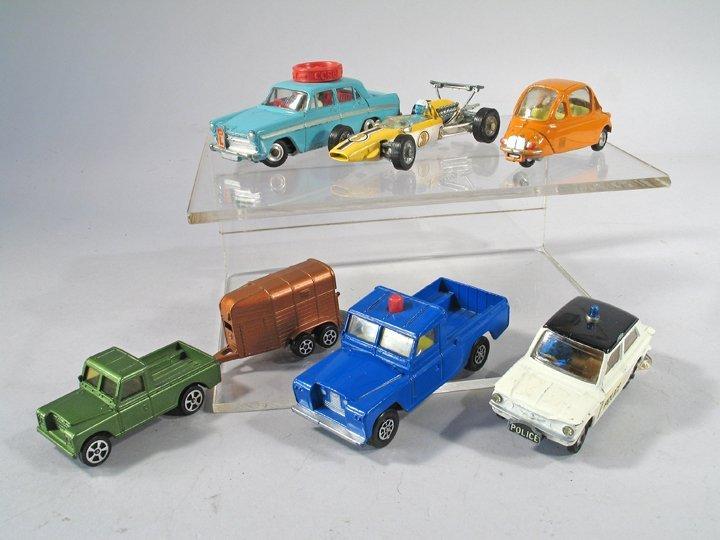 Corgi Car Lot England