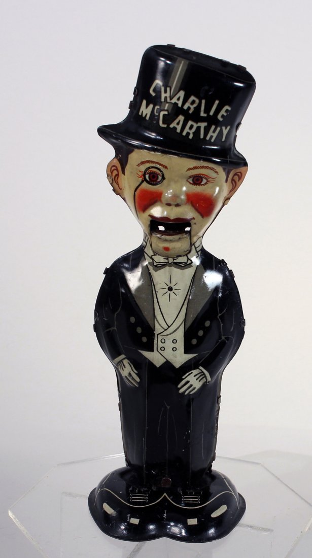 Louis Marx Tin Charlie McCarthy Walker Wind Up