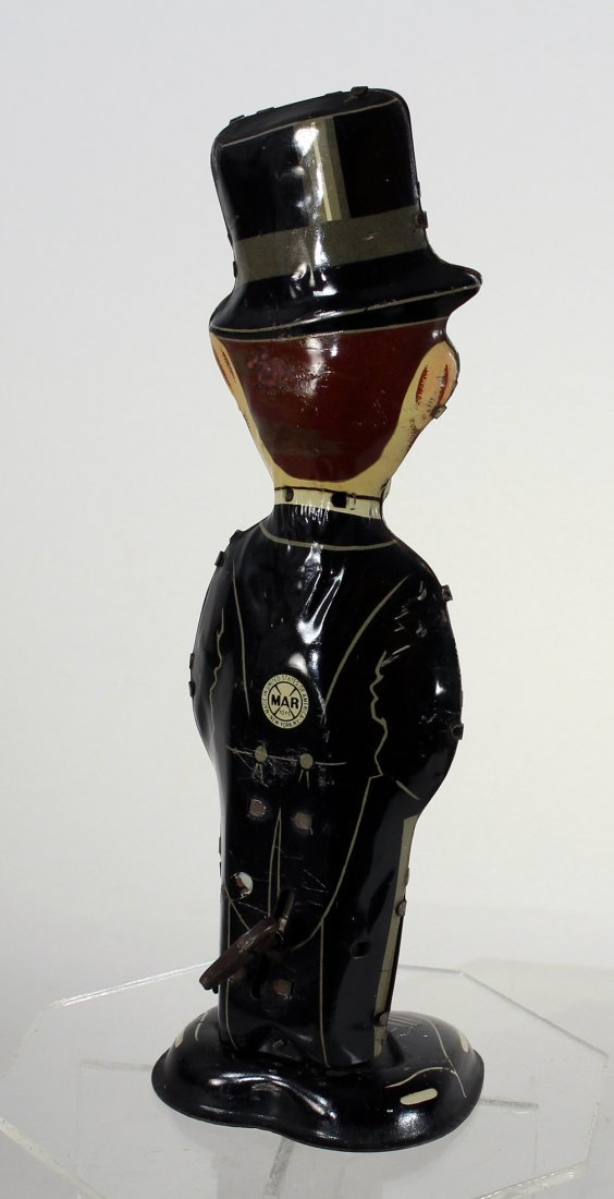Louis Marx Tin Charlie McCarthy Walker Wind Up - 2