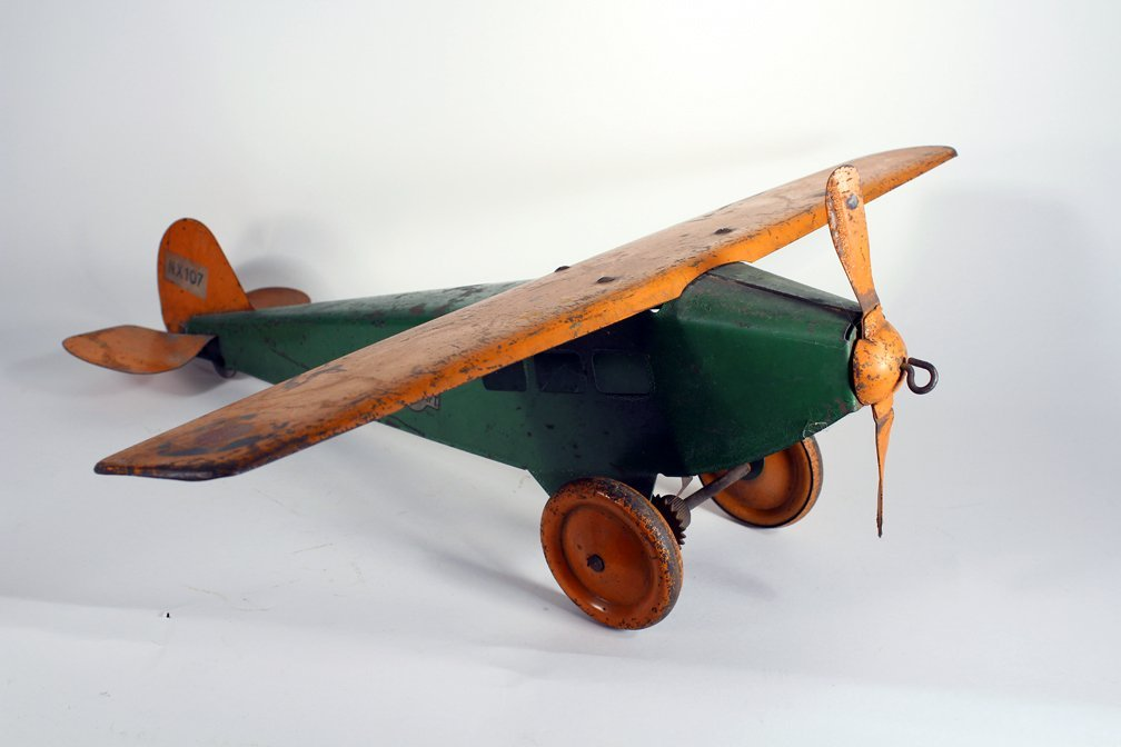 Steelcraft Pressed Steel Airplane - 2