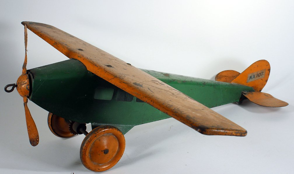 Steelcraft Pressed Steel Airplane - 3