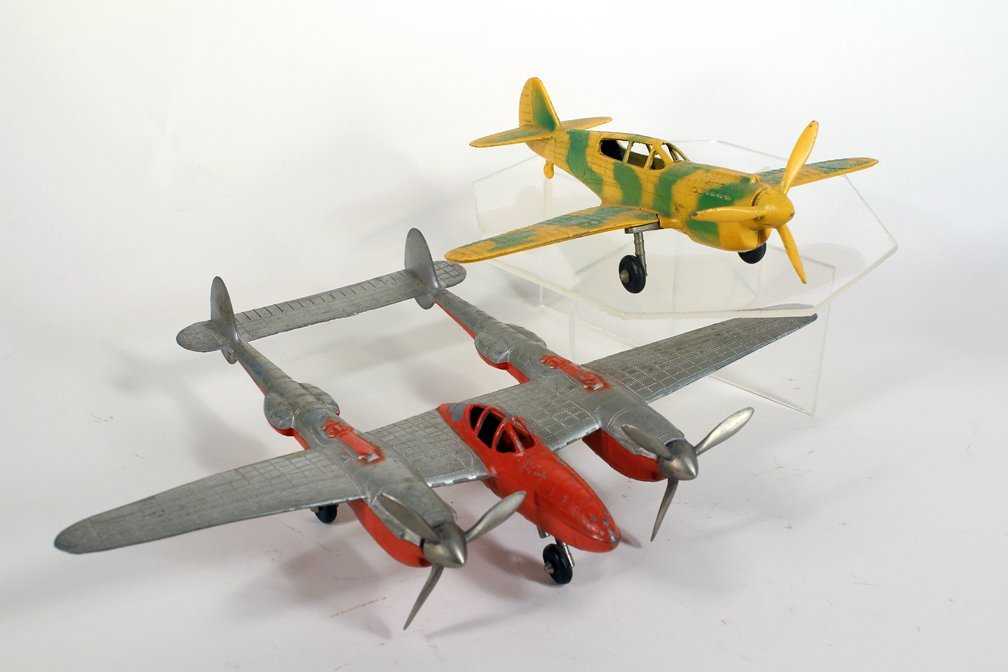 Hubley P-38 Fighter Airplane & Cammo Plane