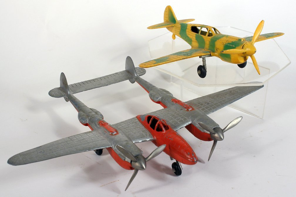 Hubley P-38 Fighter Airplane & Cammo Plane - 2