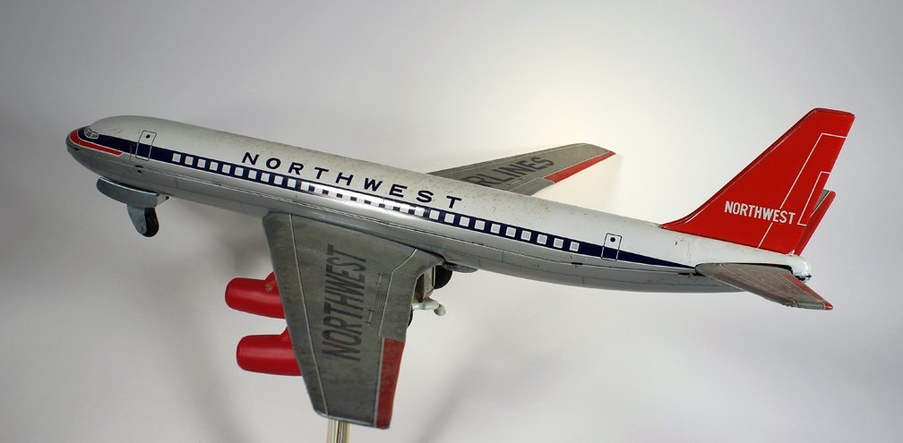 Japan Tin Northwest Airlines Airplane