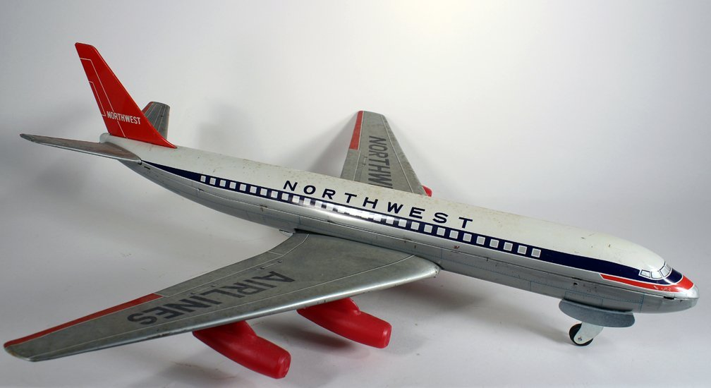 Japan Tin Northwest Airlines Airplane - 2