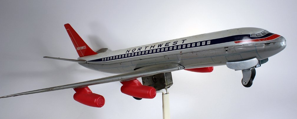 Japan Tin Northwest Airlines Airplane - 3