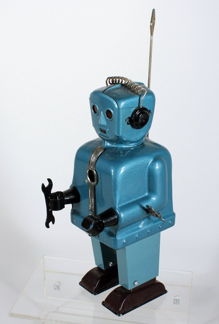 Japan Tin Nomura Zoomer Robot with Wrench