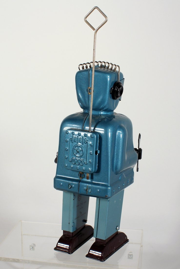 Japan Tin Nomura Zoomer Robot with Wrench - 3