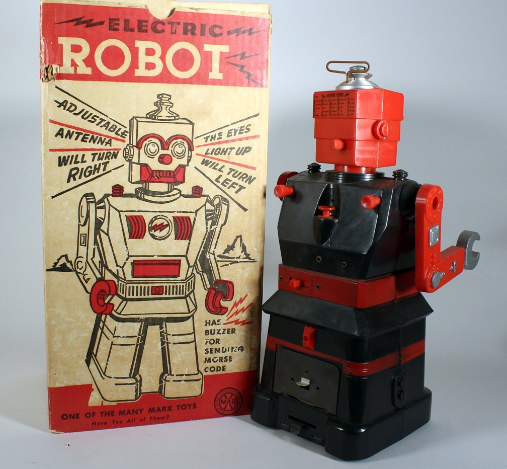 Louis Marx Electric Robot In Box - 3