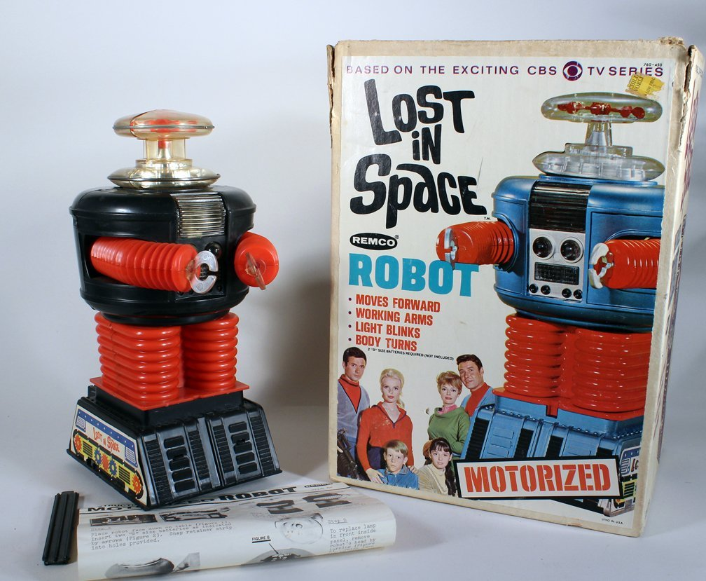 Remco Lost In Space Robot and Box