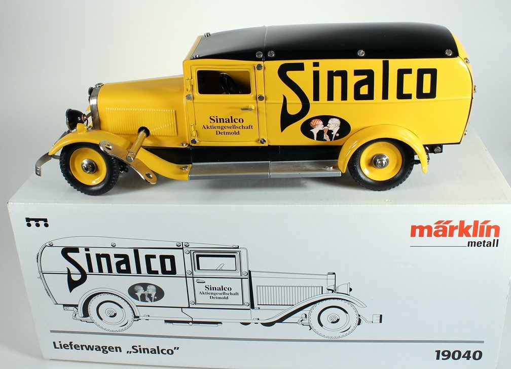 Marklin German Sinalco Delivery Truck In Box.