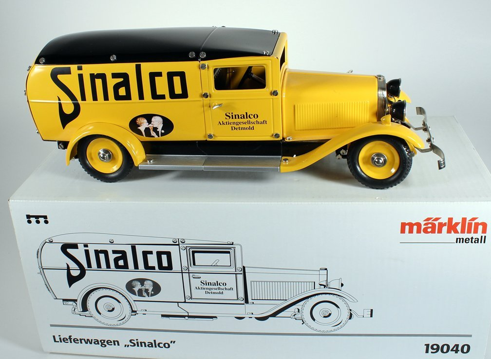 Marklin German Sinalco Delivery Truck In Box. - 4