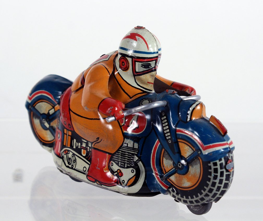 Japan Tin Motorcycle Friction