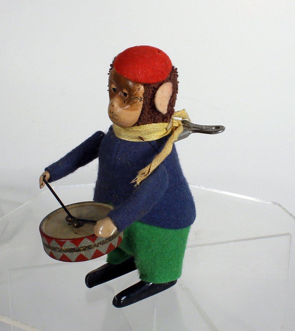 Schuco German Monkey & Drum Wind Up
