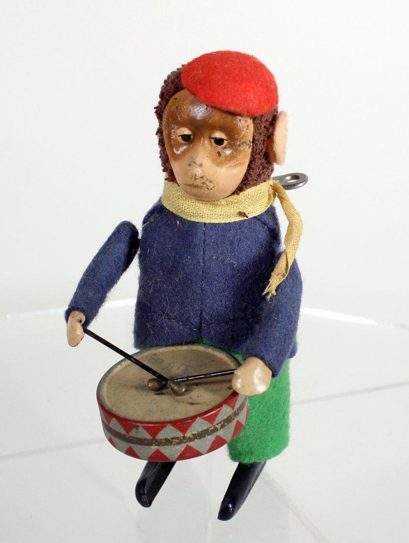 Schuco German Monkey & Drum Wind Up - 2