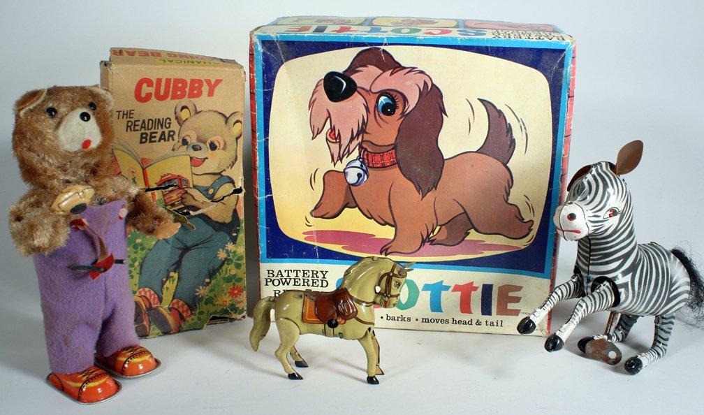 Animal Toy Lot Japan in Box German Horse