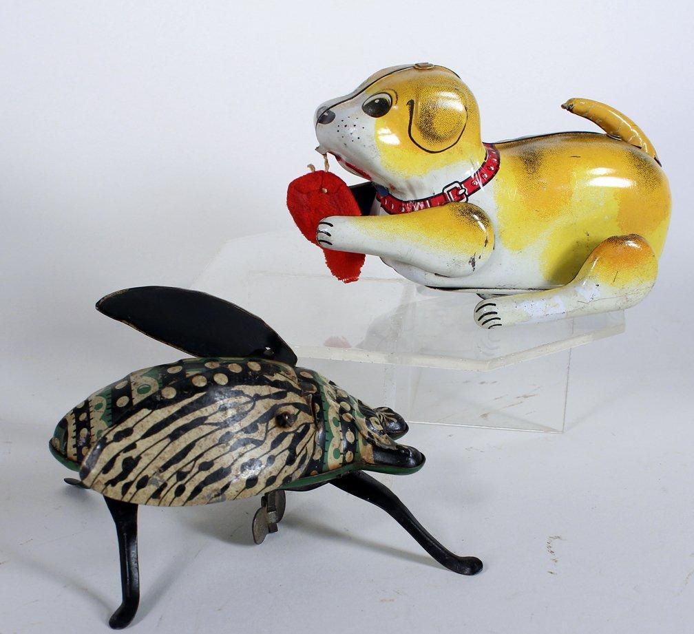 Tin Giant Bug and Japan Tin Puppy - 3