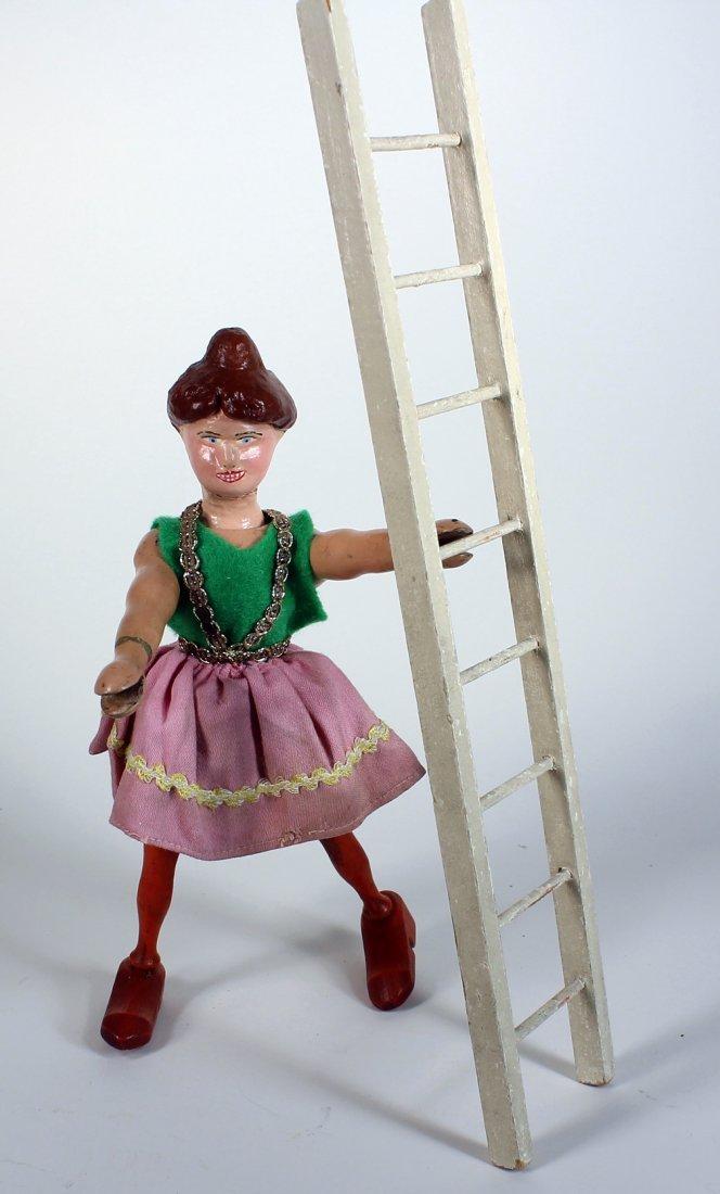 Schoenhut Humpty Dumpty Circus Lady Acrobat - 2