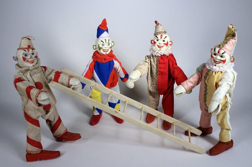 Schoenhut Humpty Dumpty Circus Clowns - 2