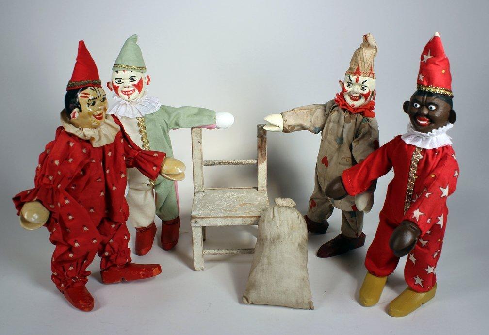 Schoenhut Humpty Dumpty Circus Clowns - 3