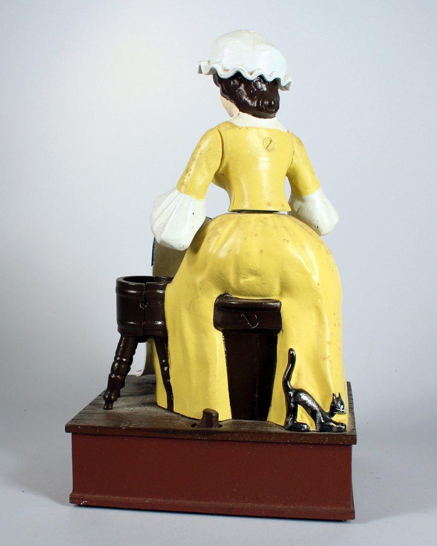 Cast Iron Betsy Ross Bicentennial Bank #331 - 3