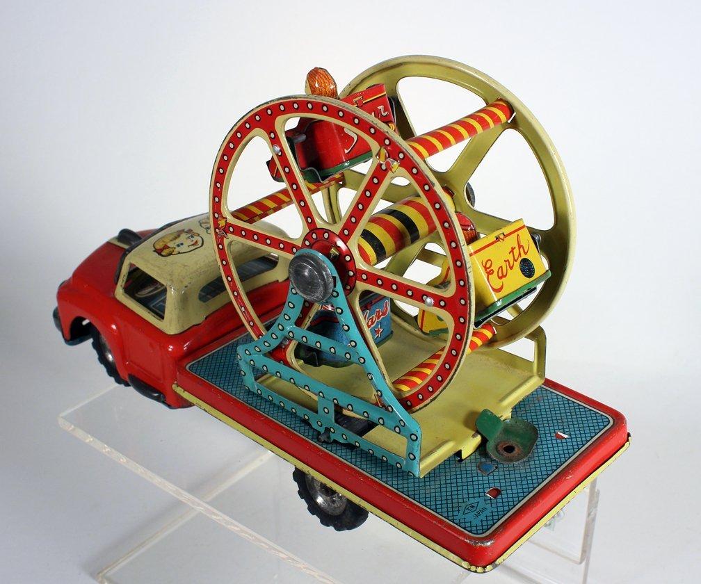 Japan Tin MT Ferris Wheel Truck Modern Toys - 2
