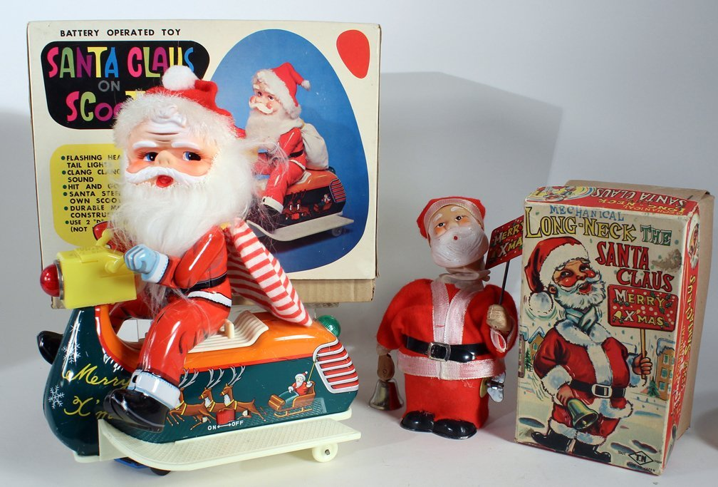 Japan Boxed Santa Claus Toys Nomura & Illfelder