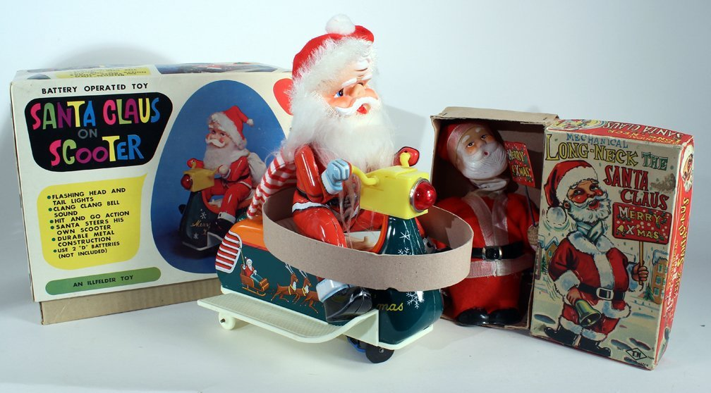 Japan Boxed Santa Claus Toys Nomura & Illfelder - 2