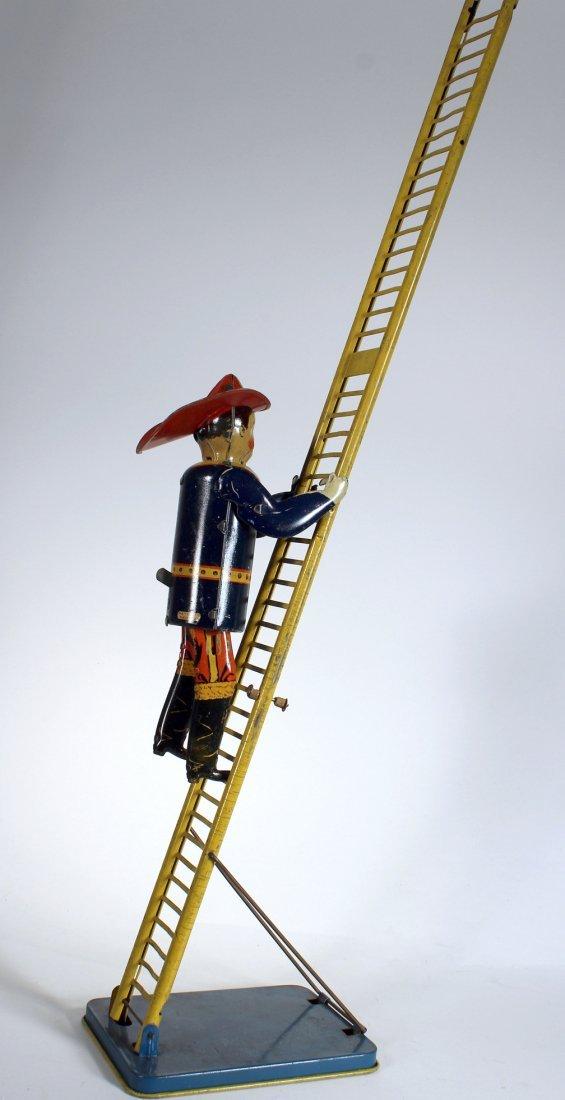 1930s Marx Climbing Fireman Wind Up