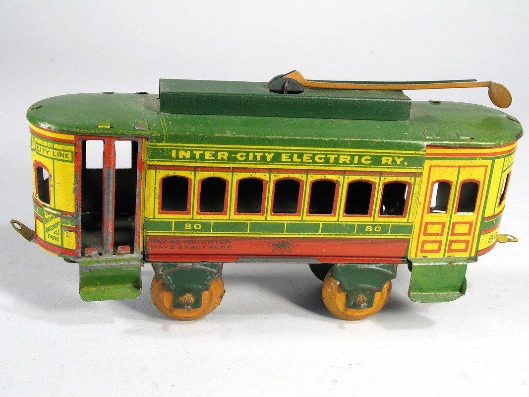 Nonpareil Tin Inter-City Electric Trolley - 2