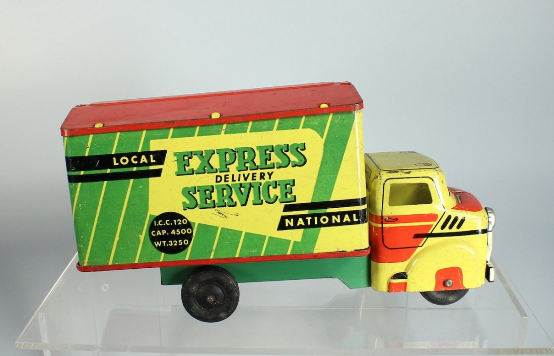 Wyandotte Pressed Steel Express Service Truck Colorful