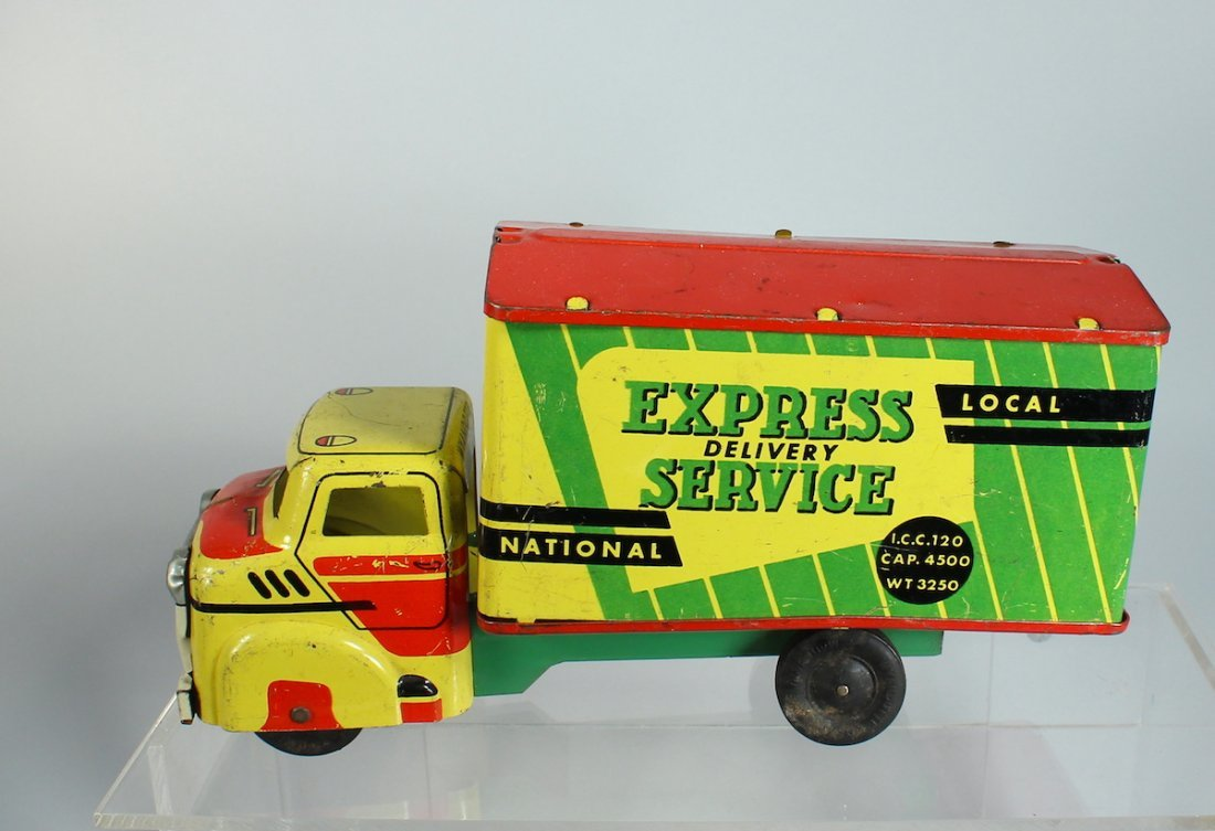 Wyandotte Pressed Steel Express Service Truck Colorful - 2