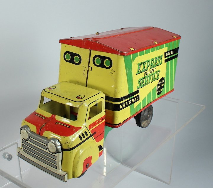 Wyandotte Pressed Steel Express Service Truck Colorful - 3
