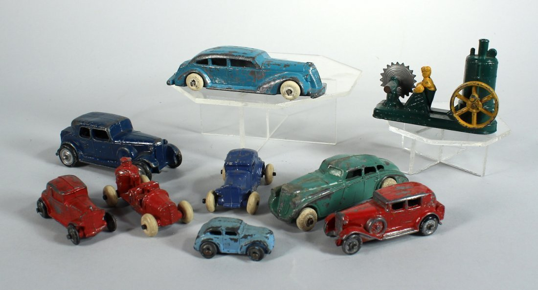 1930s Tootsietoy and Slush Autos & Trucks & Sawmill
