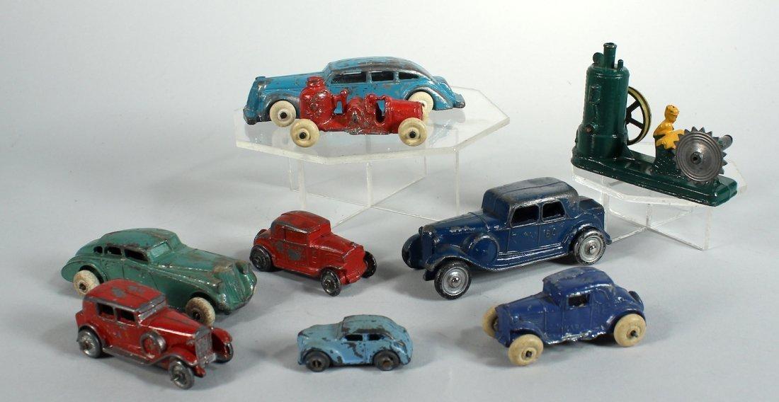 1930s Tootsietoy and Slush Autos & Trucks & Sawmill - 2