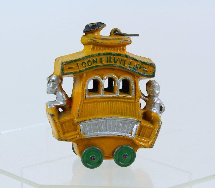 1930s Toonerville Trolley Slush Toy Dent Manufacturing