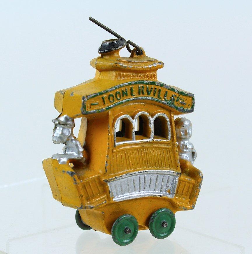 1930s Toonerville Trolley Slush Toy Dent Manufacturing - 3