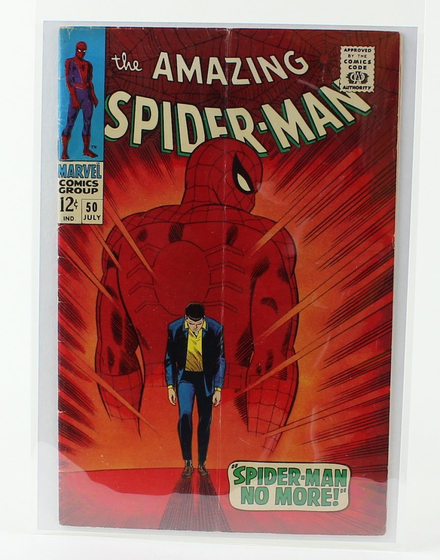 Amazing Spiderman #50 First Appearance of King Pin