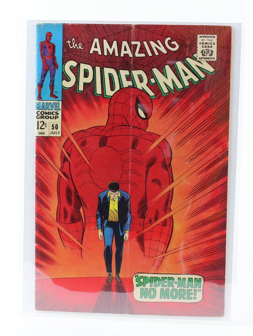 Amazing Spiderman #50 First Appearance of King Pin - 2