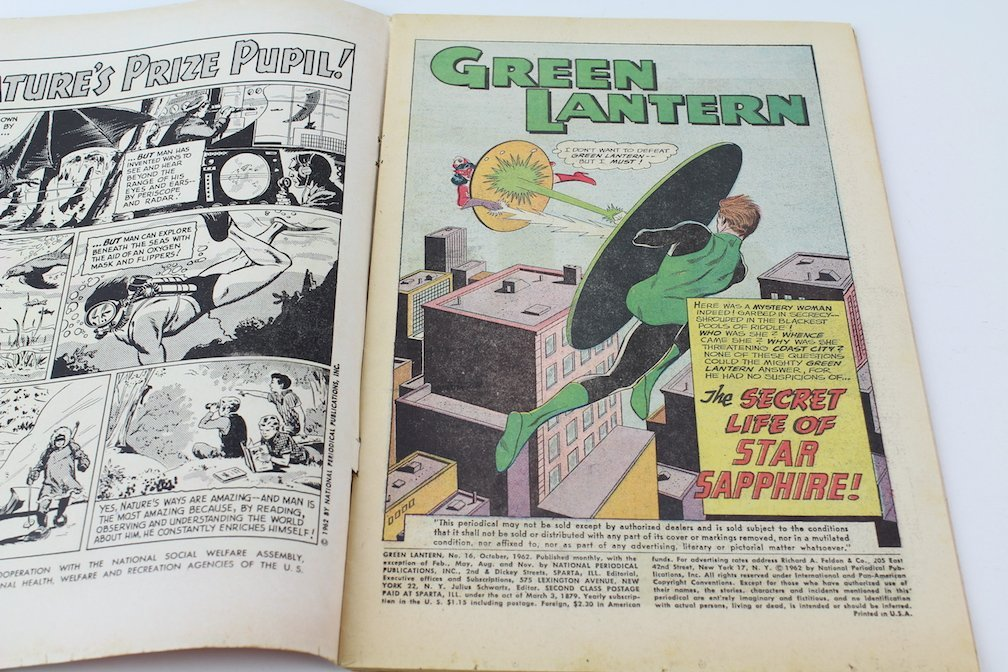 Grean Lantern #16 First Appearance of Star Sapphire - 2